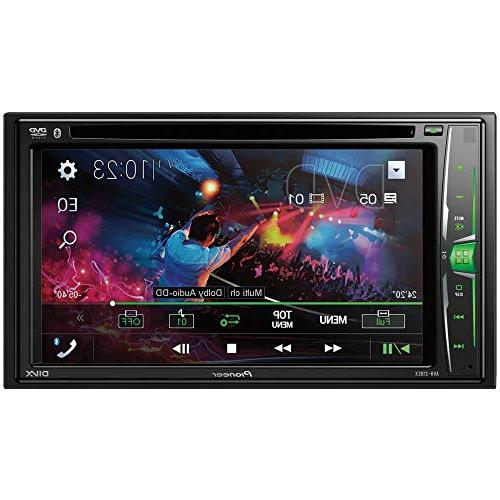 "6.2"" Touchscreen DVD Receiver with Bluetooth"