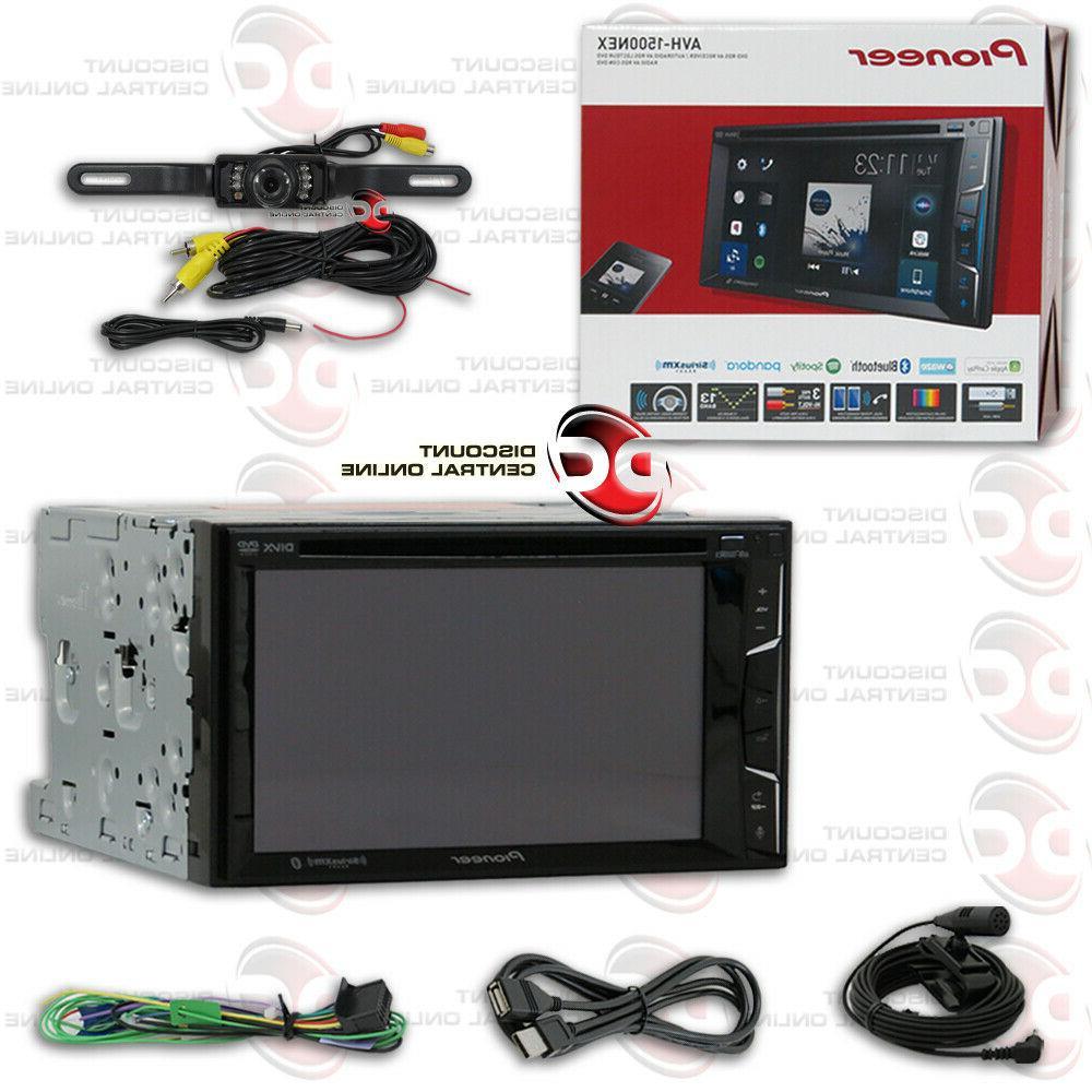 "PIONEER AVH-600EX 7"" 2DIN DVD BLUETOOTH STEREO FREE BLACK LI"
