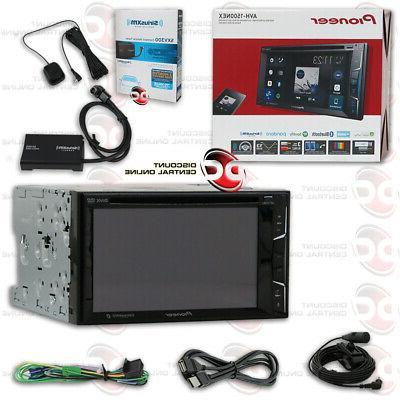 "PIONEER AVH-600EX CAR 2DIN 7"" LCD DVD BLUETOOTH STEREO PLUS"