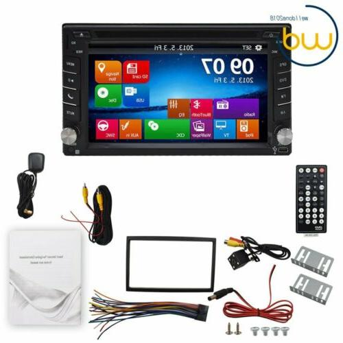backup camera gps double din car stereo