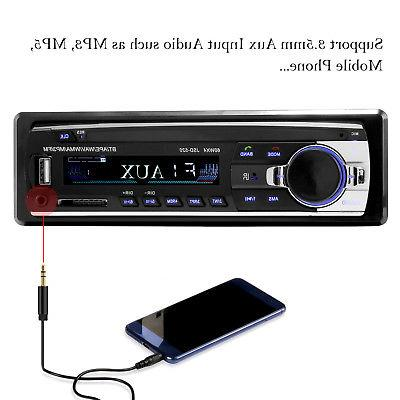 Bluetooth In-Dash Receiver SD USB Radio Player