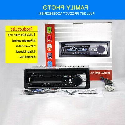 Bluetooth AUX Input Receiver USB MP3 In-Dash