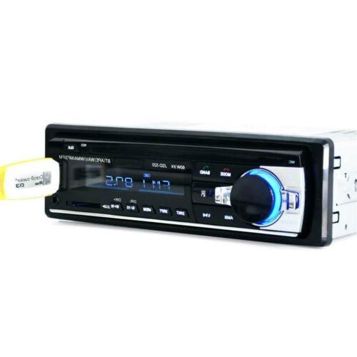 Bluetooth Stereo AUX USB Radio Player In-Dash Unit