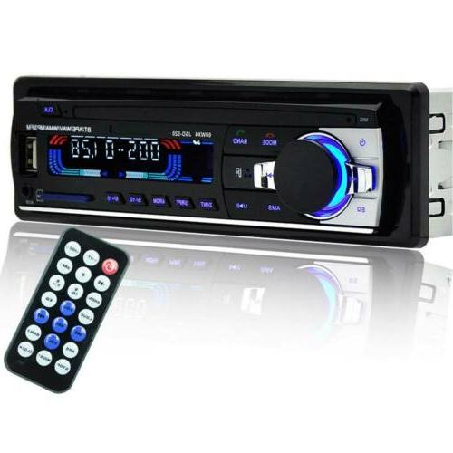 Bluetooth Car AUX USB Radio In-Dash Unit
