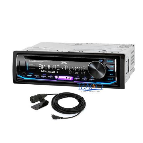 JVC Bluetooth Car Stereo Removable Faceplate SiriusXM Aux US
