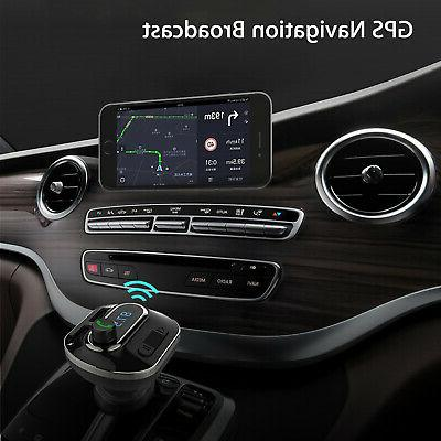 Bluetooth Stereo Audio Receiver FM Radio Adapter USB SD