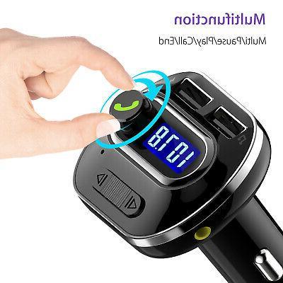 Bluetooth Wireless Car Stereo Radio SD