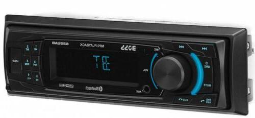 BOSS Audio 625UAB Multimedia Car Stereo – Single Din, MP3