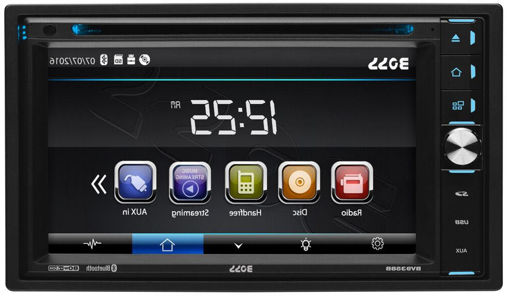 Boss Double Bluetooth In-Dash DVD Car