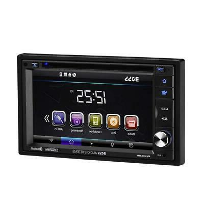 BOSS BV9362BI DVD – Din, Bluetooth Audio Touchscreen MP3 CD, DVD, USB, SD, Auxiliary Radio