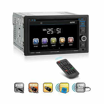 bv9364b double din touchscreen dvd