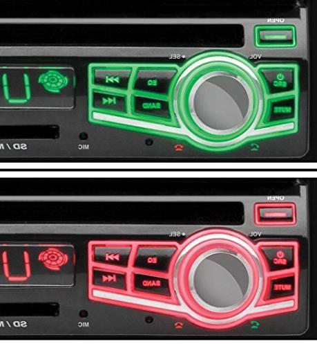 "BOSS AUDIO Car DVD Player - 7"" Single DIN"