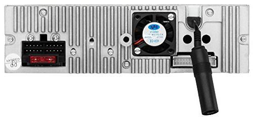 BOSS AM/FM Stereo, Inch LCD Monitor, Detachable Front Wireless Remote, Multi-Color
