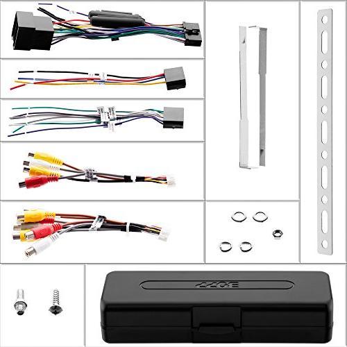 BOSS Din, Touchscreen, Bluetooth, AM/FM Inch Monitor, Detachable Wireless Remote, Multi-Color