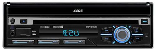 BOSS Audio Din, Bluetooth, AM/FM Car Stereo, 7 Inch Detachable Front Remote, Multi-Color