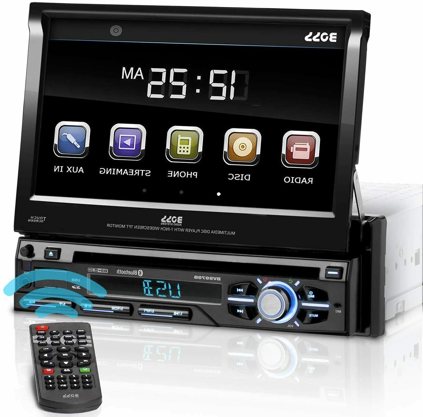 bv9979b single din motorized touchscreen