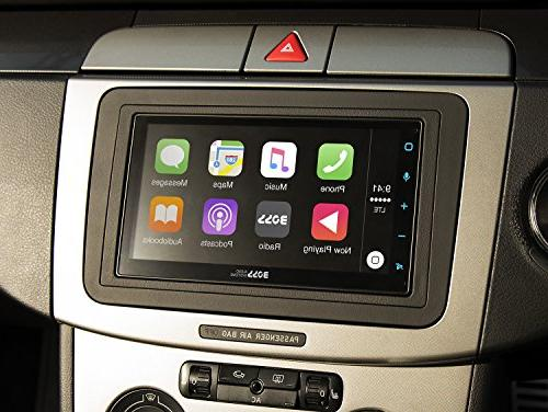 "Boss Audio Din, Apple CarPlay, Auto, 6.75"" Touchscreen AM/FM Receiver, MP3/USB"