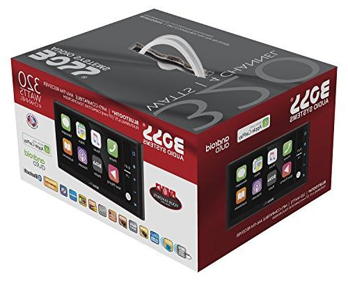 "Boss Din, Apple Android Auto, Bluetooth, 6.75"" Touchscreen MP3/USB"