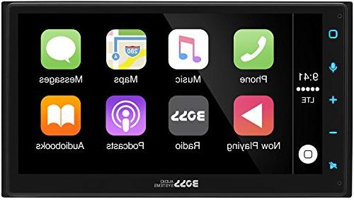 Boss BVCP9675A Din, CarPlay, Auto, Capacitive Touchscreen AM/FM MP3/USB