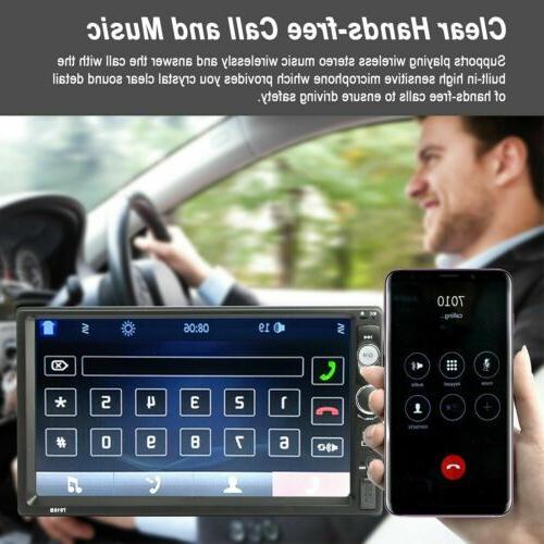 Car Inch 1080P FM Stereo Camera