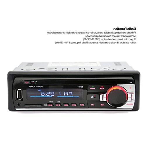 Ruhiku Car Bluetooth Car FM Audio 1 Radio