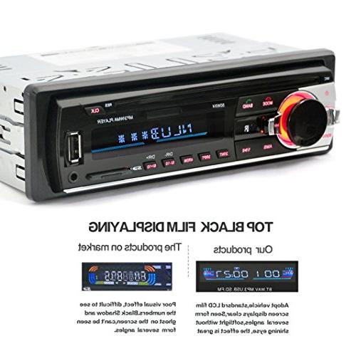 Ruhiku GW Audio Stereo Bluetooth FM 1 DIN MP3 Radio