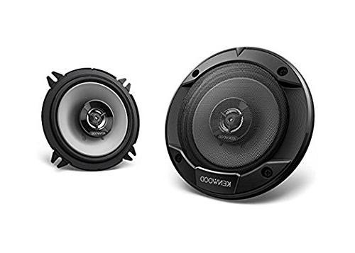 Kenwood KMM-BT325U Bluetooth Stereo, Am/fm Tuner with KFC-1665S 2-Way Speaker Black 16 Gauge