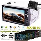 Car Multimedia FM AM Radio DVD CD Player Bluetooth 2Din 6.2'