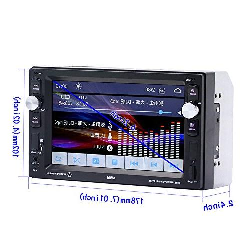 Car Stereo with Double Touch LCD for MP3/USB/SD/FM
