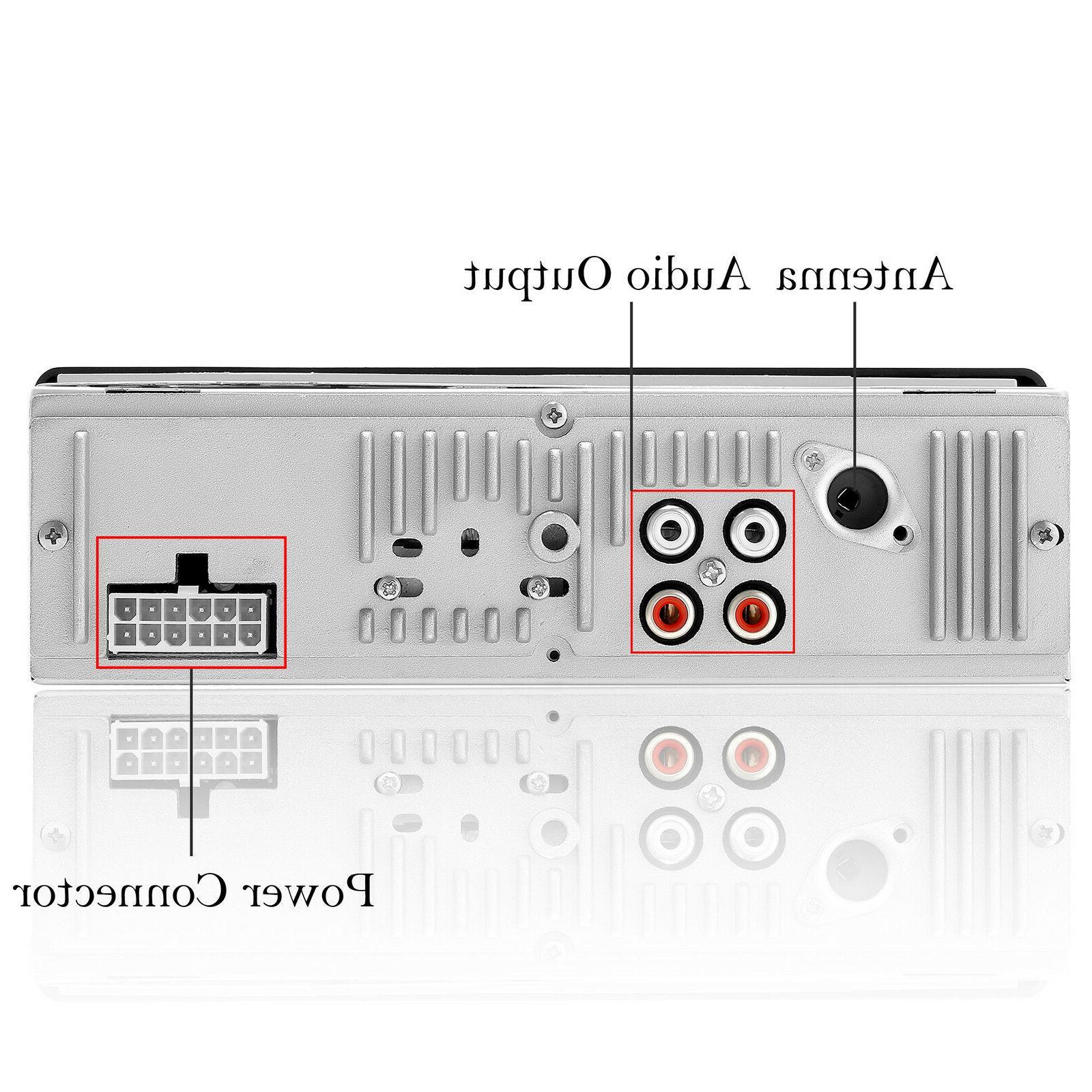 Car In-Dash Aux Input Receiver MP3 Radio