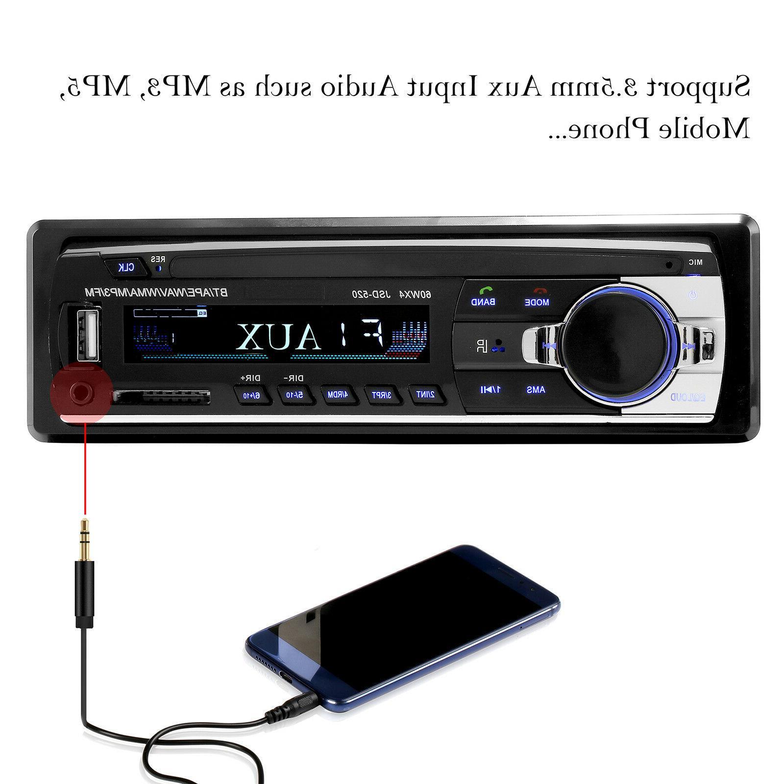 Car Audio In-Dash FM Receiver Radio