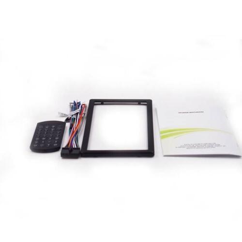 Car Stereo 2 Din CD DVD Player Navigation+Cam