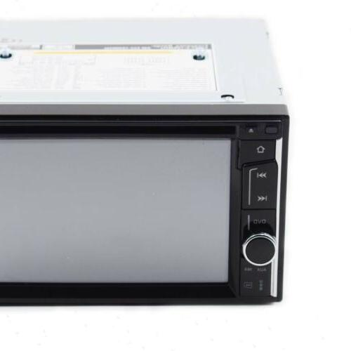 Car Stereo 2 Din CD Player MirrorLink For Navigation+Cam