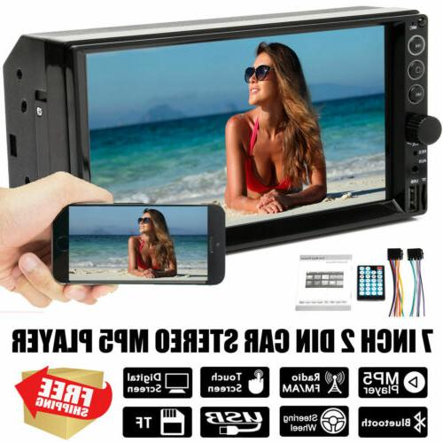 car stereo double 2din 7 mirror link
