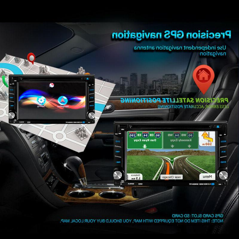 """6.2"""" Stereo Navigation Double DIN"""