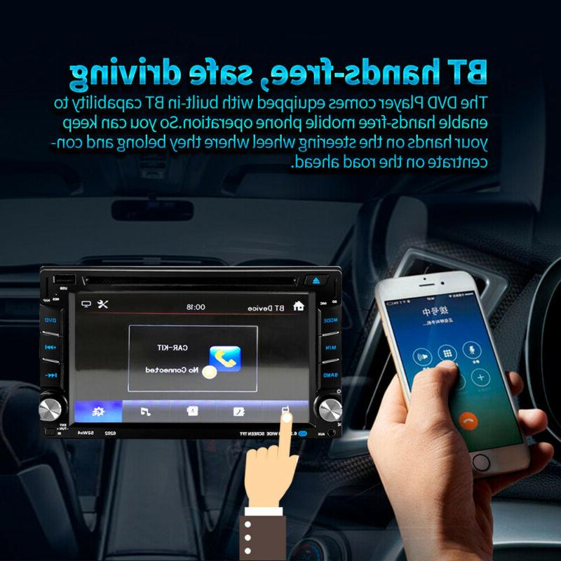"""6.2"""" Car Stereo DVD Navigation Double DIN"""