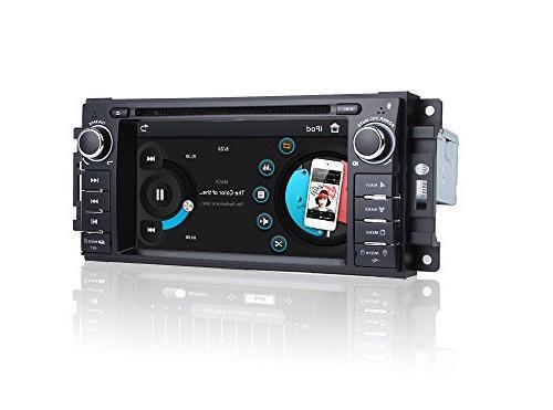 MCWAUTO Stereo DVD Player Ram Challenger JK Din Indash Radio Receiver