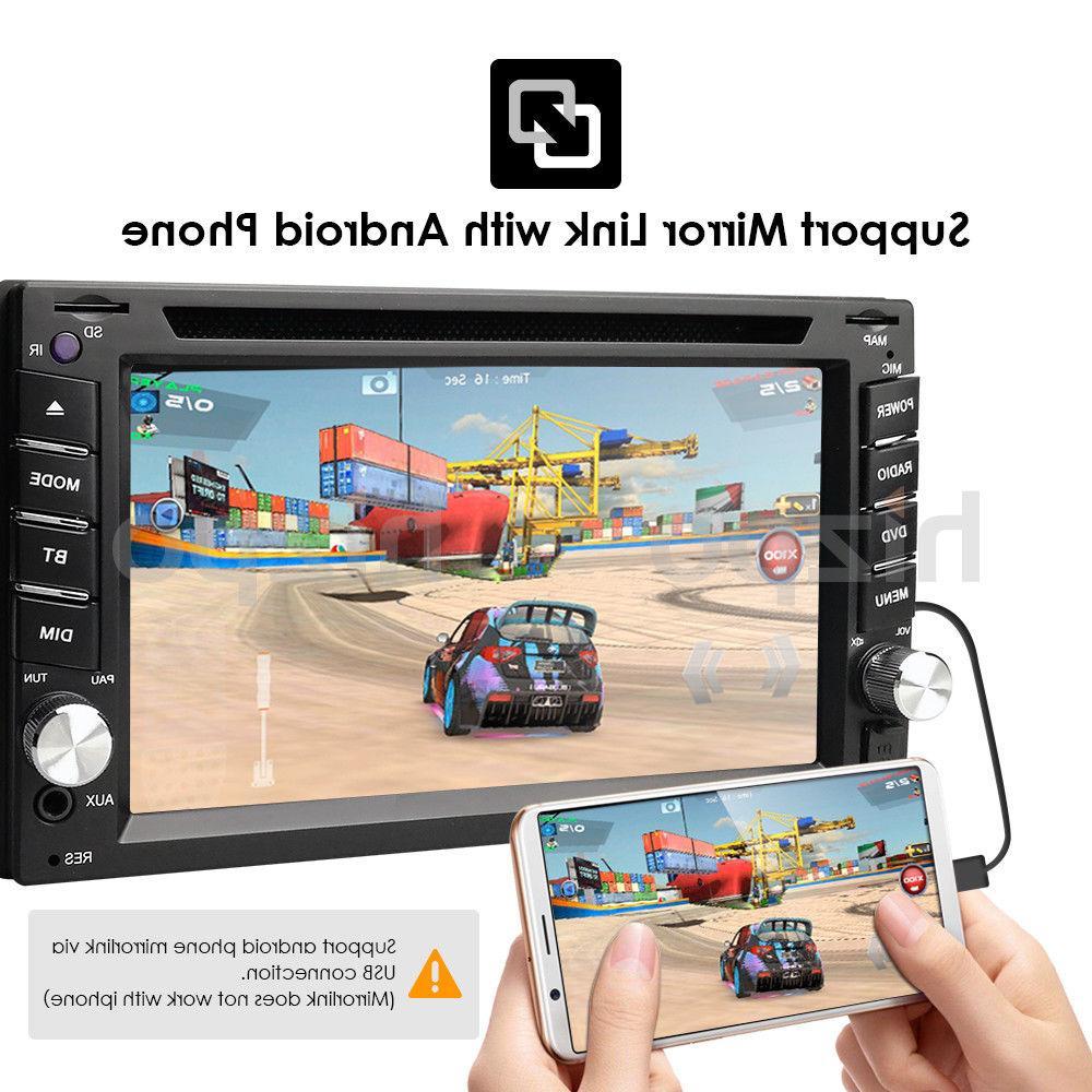 Car Bluetooth Radio Din CD Player