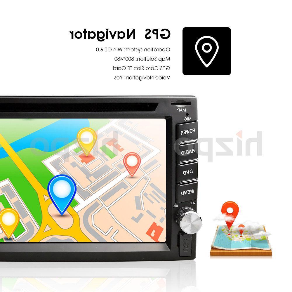 Car Stereo Navigation Bluetooth Din Player