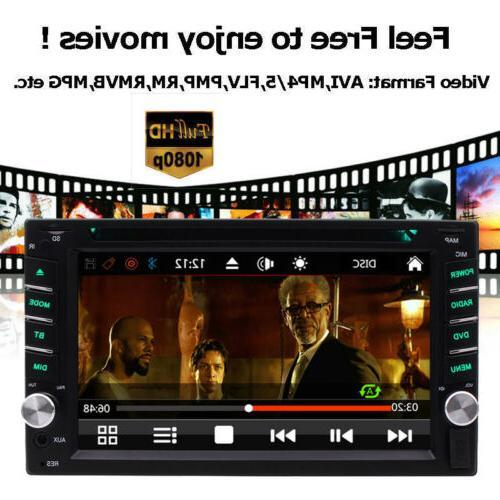 Car GPS Bluetooth Radio Din Player