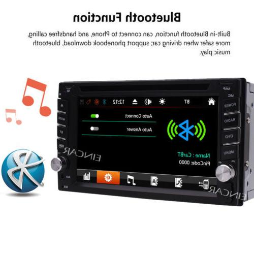 Car GPS Din CD DVD Player