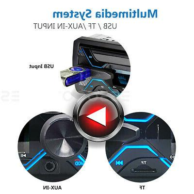 Car Stereo Bluetooth FM Radio In-dash Handsfree