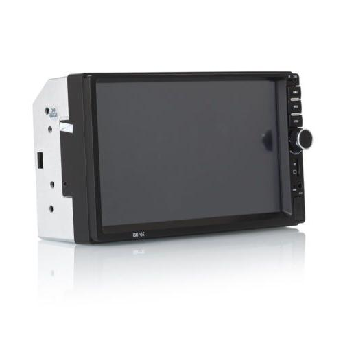 Car Radio Bluetooth Audio Receiver Double 2 Din USB AUX