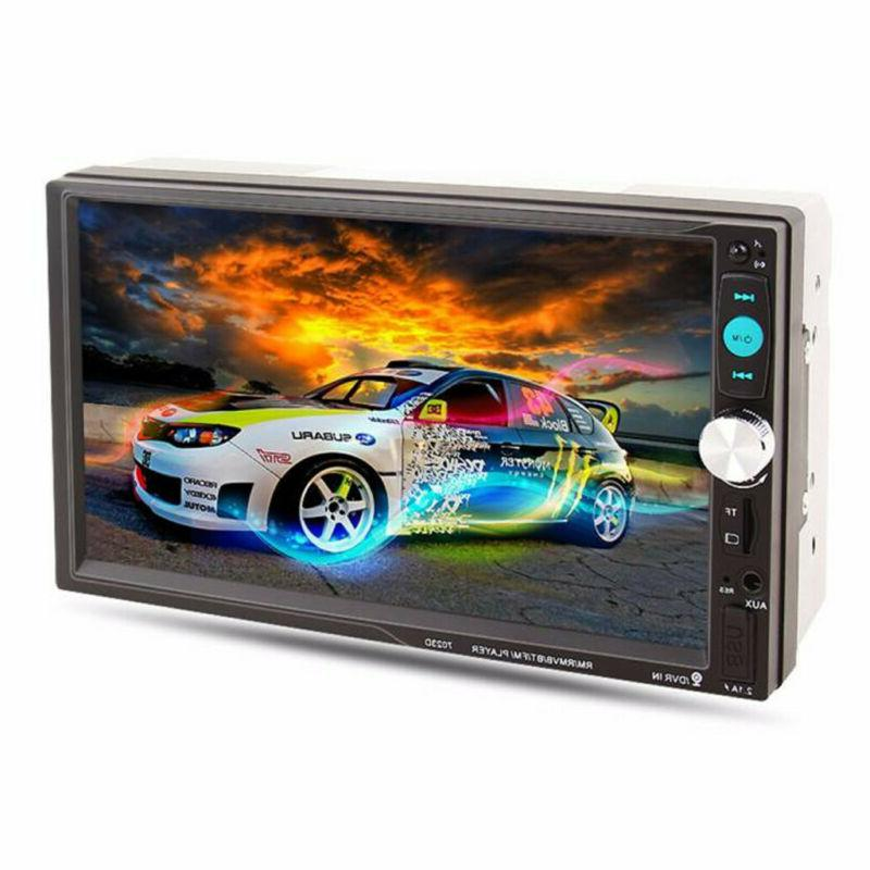 """7"""" Screen Hands-free Stereo Player Radio USB AUX USA"""