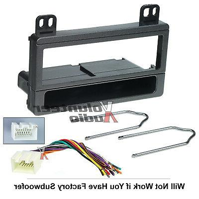 Car Stereo Radio Kit Dash Installation Kit Wiring Harness Tools