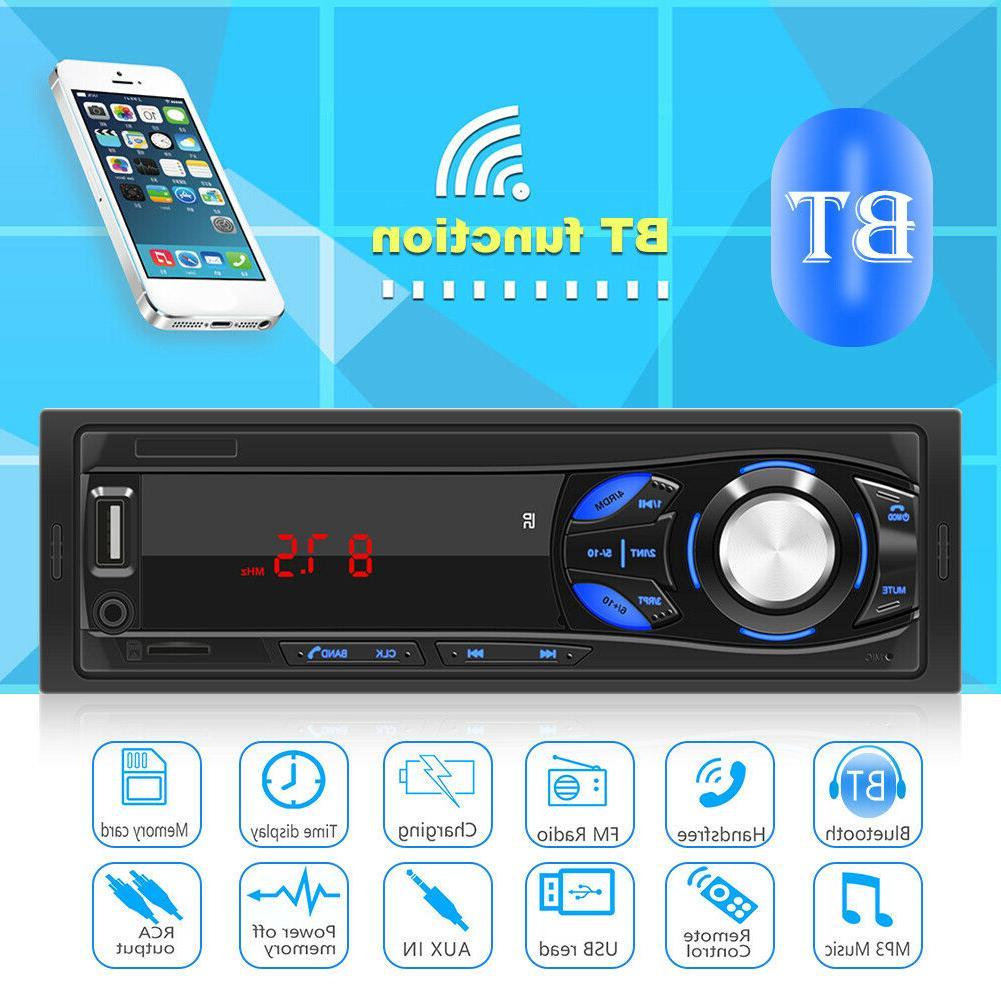 SWM-1044 1 DIN Car Stereo MP3 Player Radio AUX TF Card U Dis