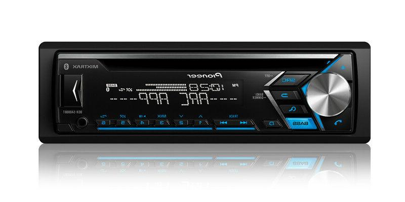 Pioneer 1-DIN Car Stereo CD Player Receiver w/ Bluetooth USB