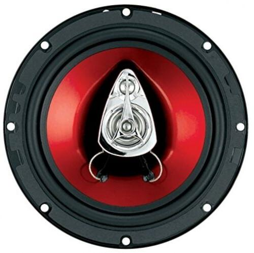 Boss Ch6530 Car Speaker Red Chaos Exxtreme 300 Watts