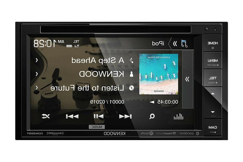 KENWOOD DIN TOUCHSCREEN CAR DVD BLUETOOTH