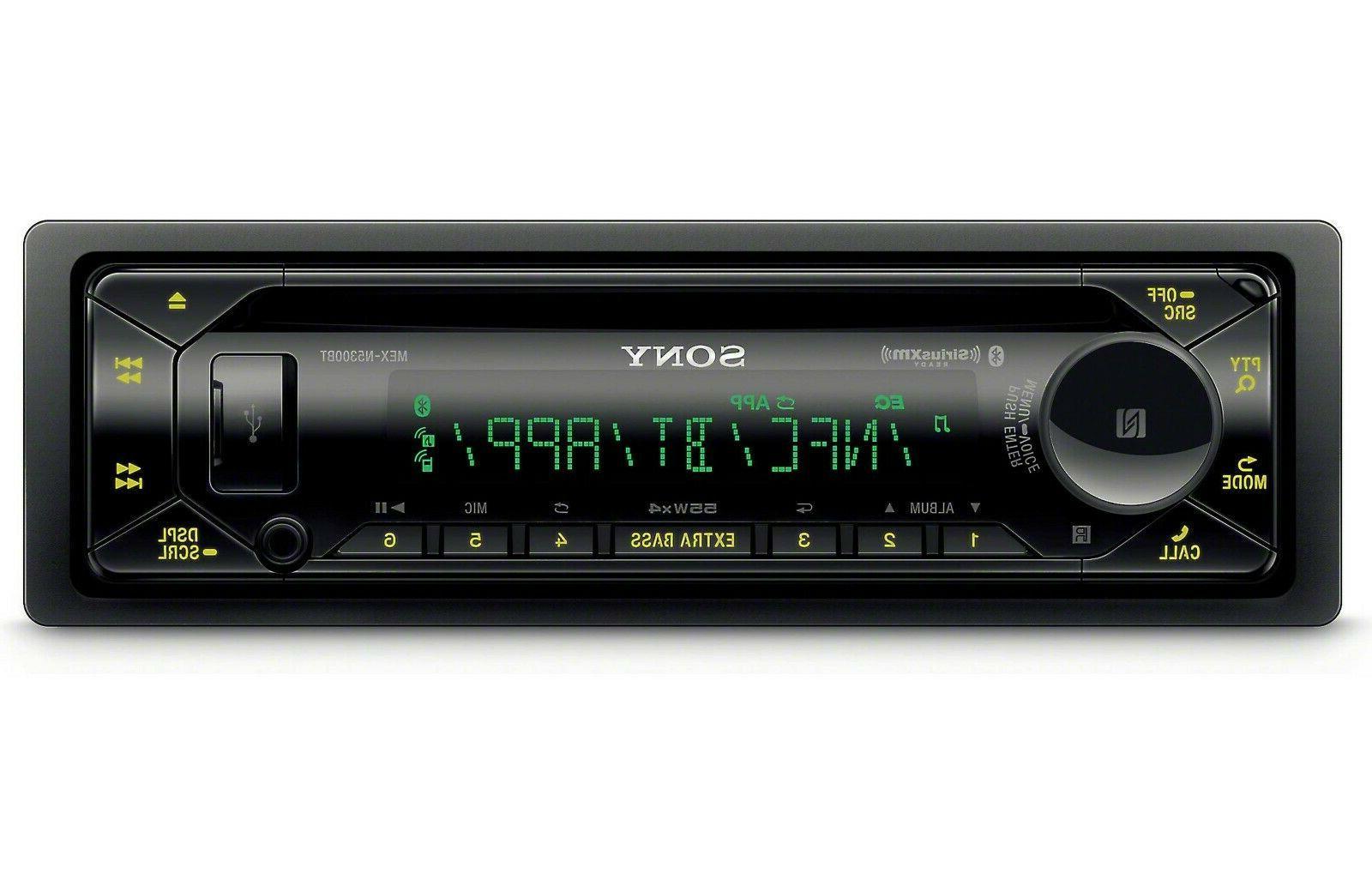 Sony MEX-N5300BT Single DIN Bluetooth In-Dash CD USB AM/FM C